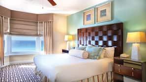 Premium bedding, pillowtop beds, iron/ironing board, free WiFi