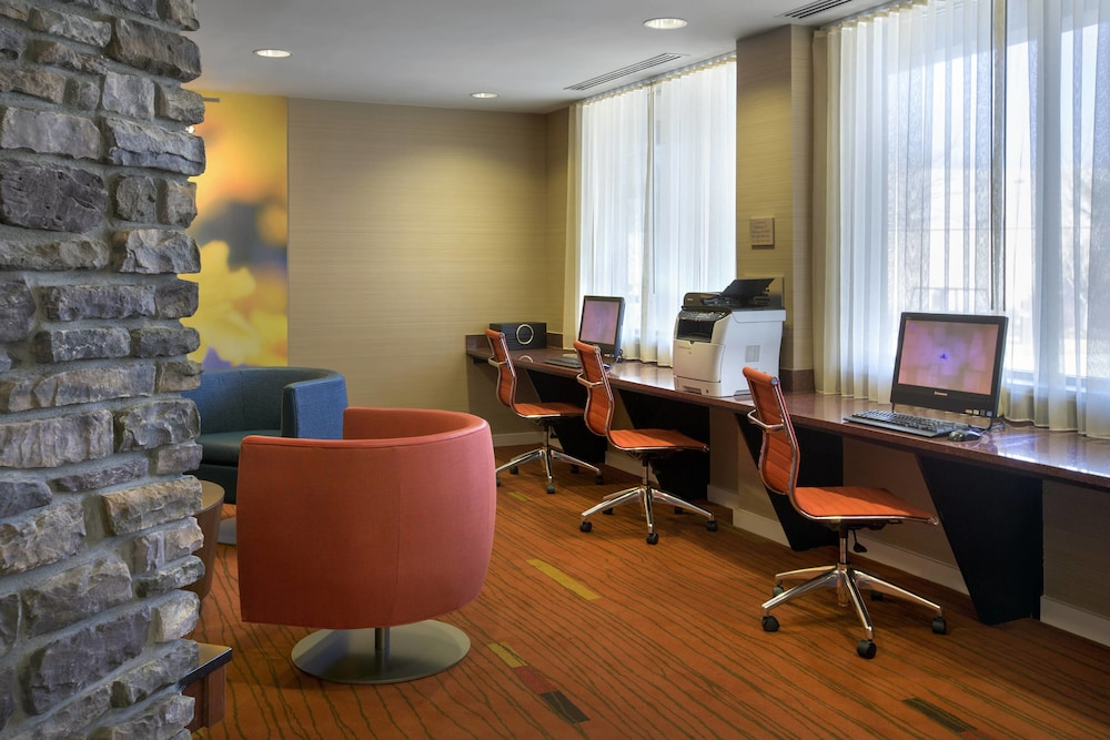 Business Center, Courtyard by Marriott Paramus