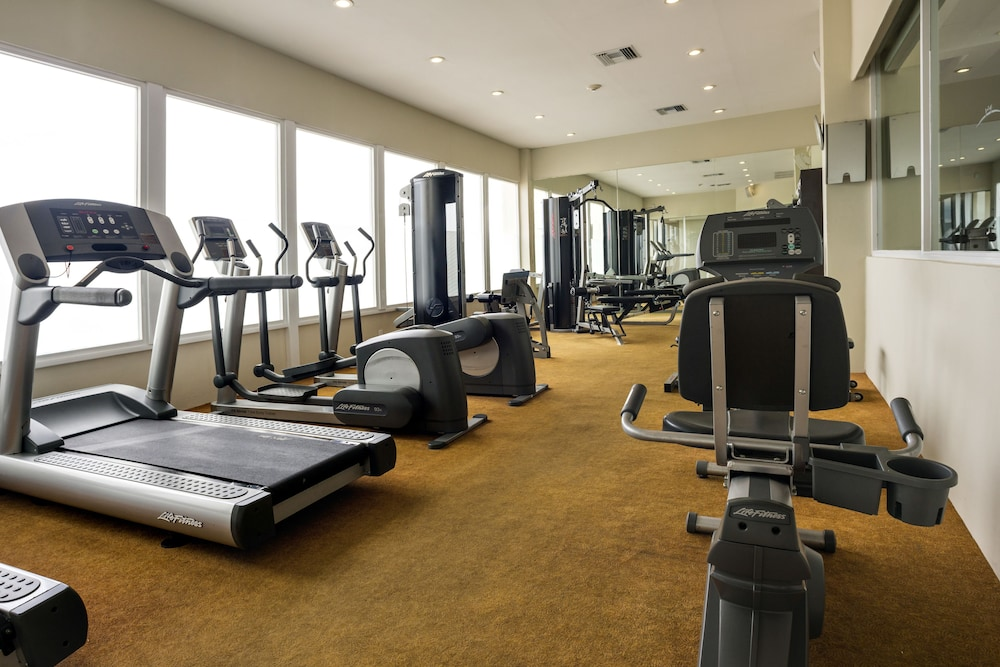 Gym, Isla Mujeres Palace Couples Only All Inclusive Resort