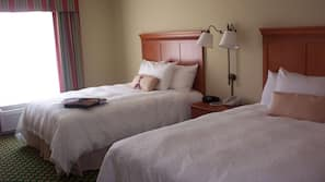 Down comforters, in-room safe, individually decorated
