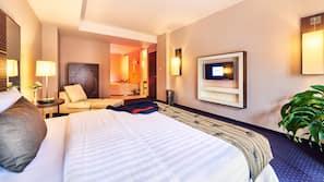 Luxe beddengoed, Select Comfort-bedden, een gratis minibar