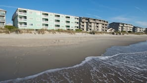On the beach, surfing, fishing