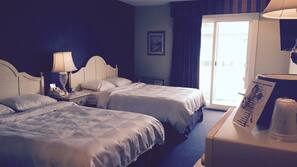 Down comforters, rollaway beds, free WiFi