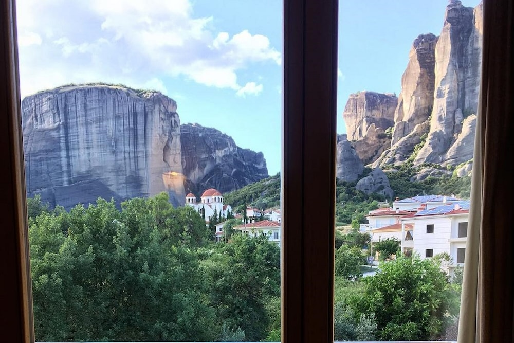 View from Room, Divani Meteora Hotel