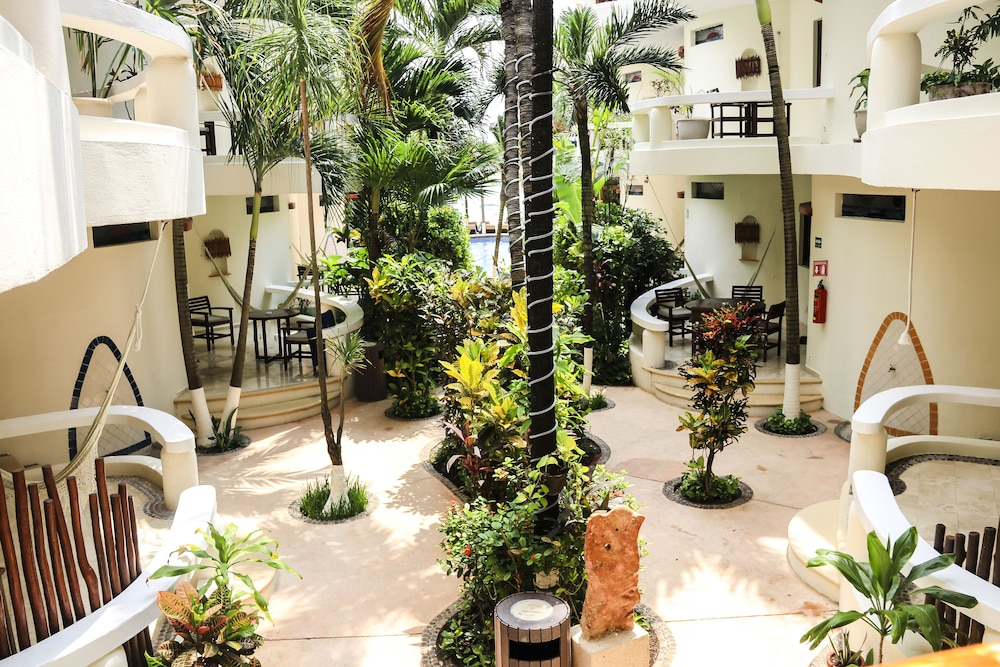 Courtyard, Playa Palms Beach Hotel