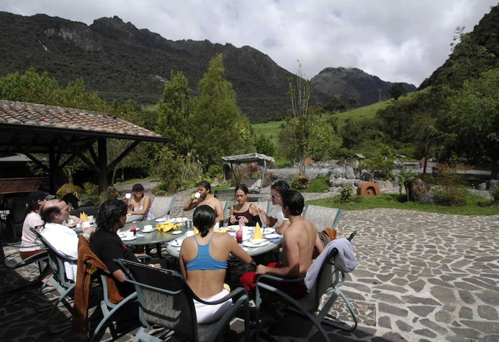 Outdoor Dining, Termas de Papallacta
