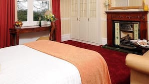 Premium bedding, down duvets, memory-foam beds, individually furnished