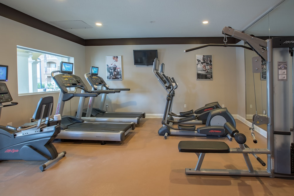Gym, The Point Hotel & Suites