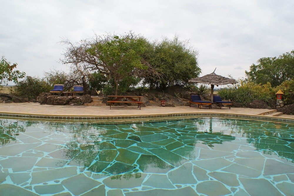 Outdoor Pool, Kia Lodge