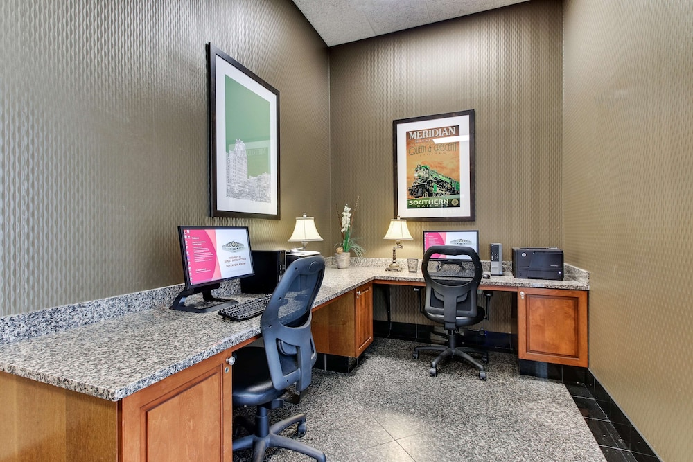 Business Center, Drury Inn & Suites Meridian