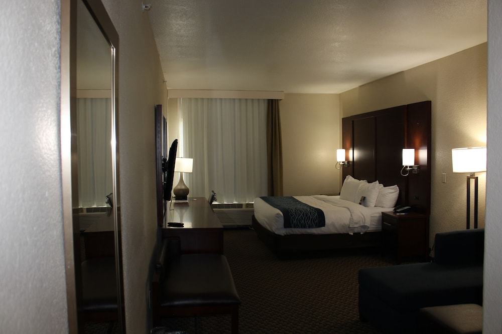 Room, Comfort Inn & Suites Near Six Flags & Medical Center