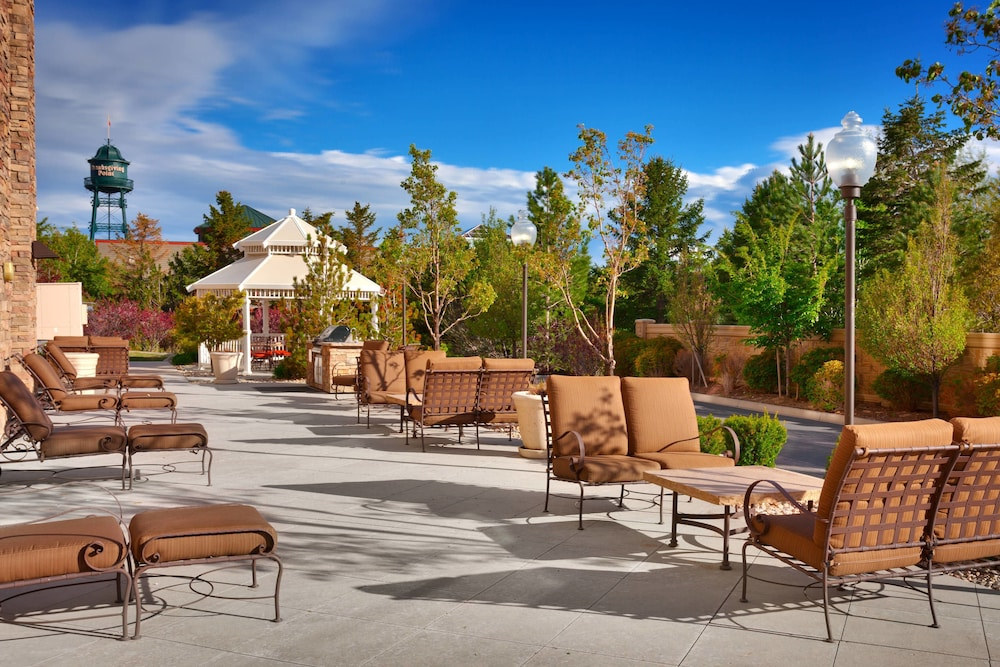 Terrace/Patio, SpringHill Suites Lehi at Thanksgiving Point
