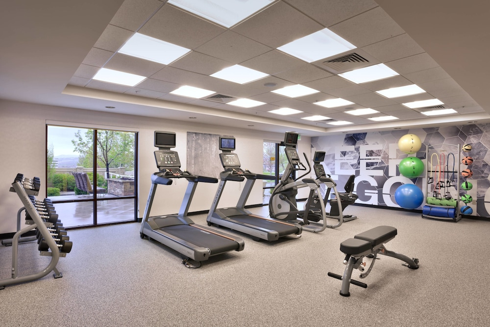 Fitness Facility, SpringHill Suites Lehi at Thanksgiving Point