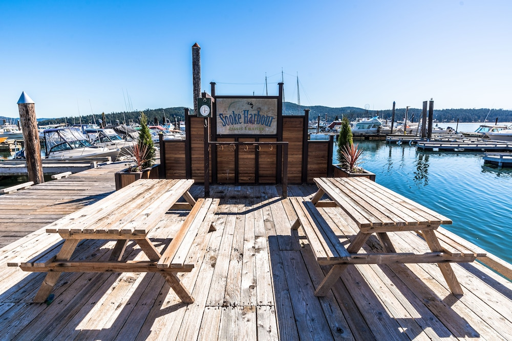 Marina, Sooke Harbour Resort & Marina