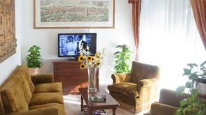 TV a schermo piatto 20 pollici con canali satellitari, TV
