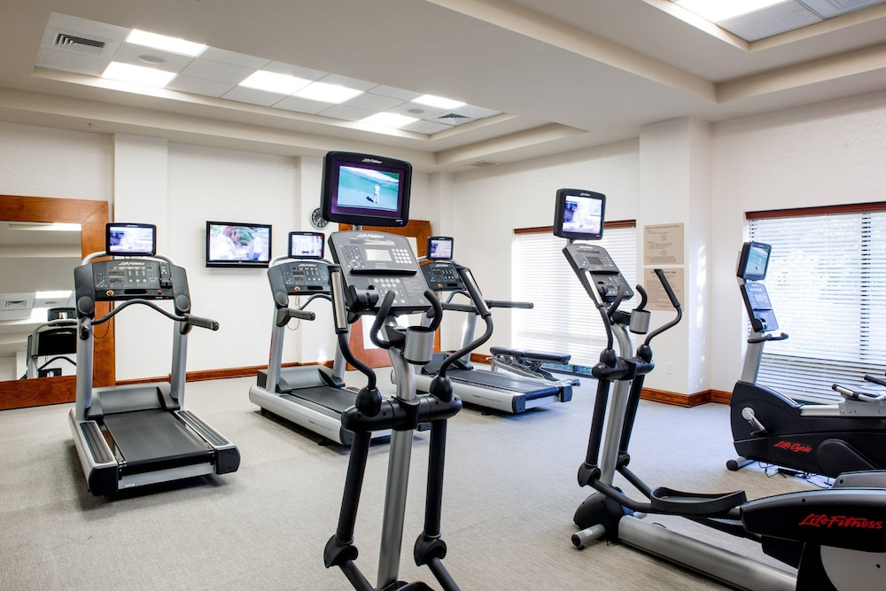 Fitness Facility, Springhill Suites by Marriott Hampton Coliseum