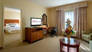 42-inch LED TV with cable/satellite channels