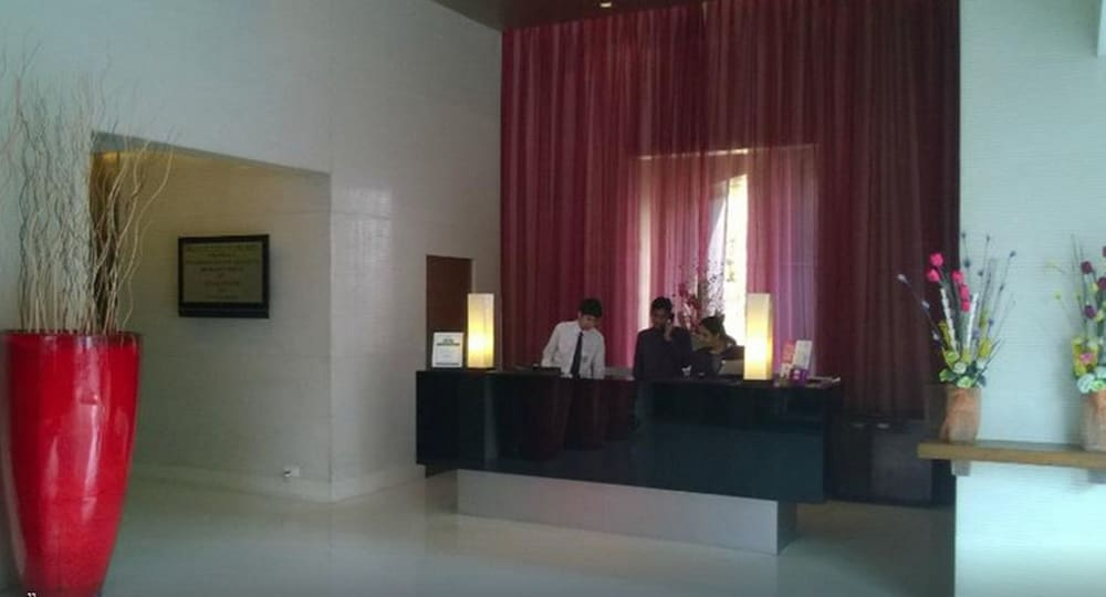 Reception, Royal Orchid Central Pune