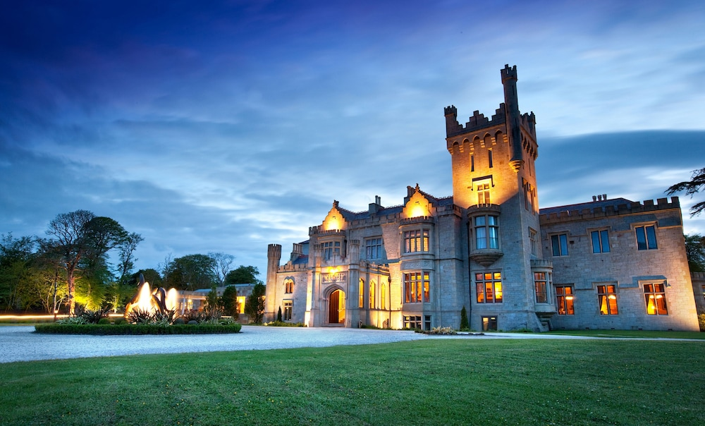 Front of Property - Evening/Night, Lough Eske Castle