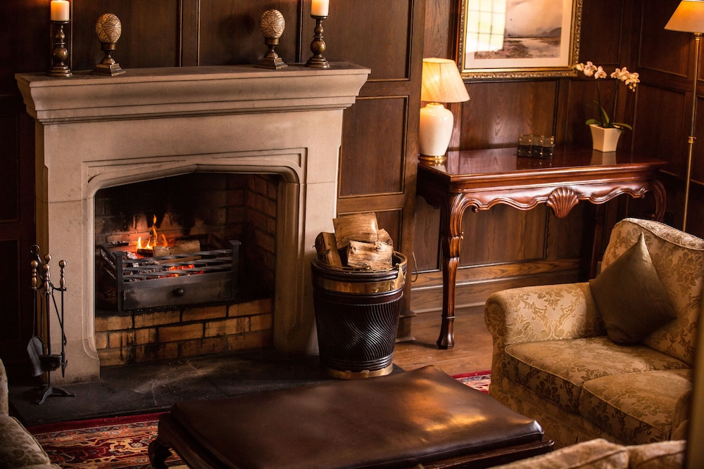 Fireplace, Lough Eske Castle