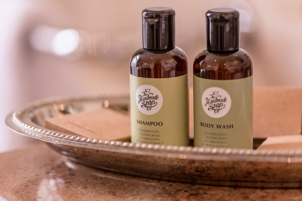 Bathroom Amenities, Lough Eske Castle