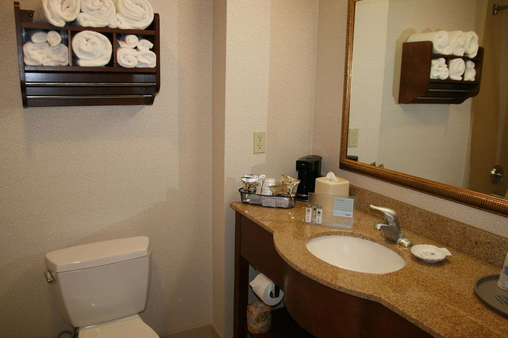 Bathroom, Hampton Inn & Suites Pittsburg