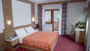 Italienische Bettbezüge von Frette, Daunenbettdecken, Zimmersafe
