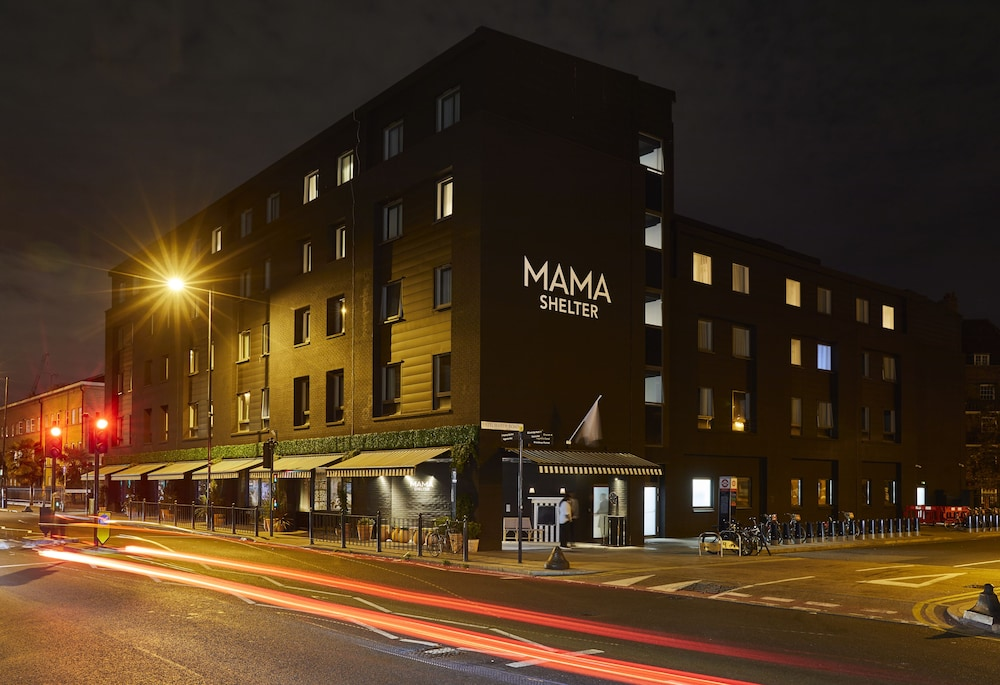 Front of Property - Evening/Night, Mama Shelter London - Shoreditch