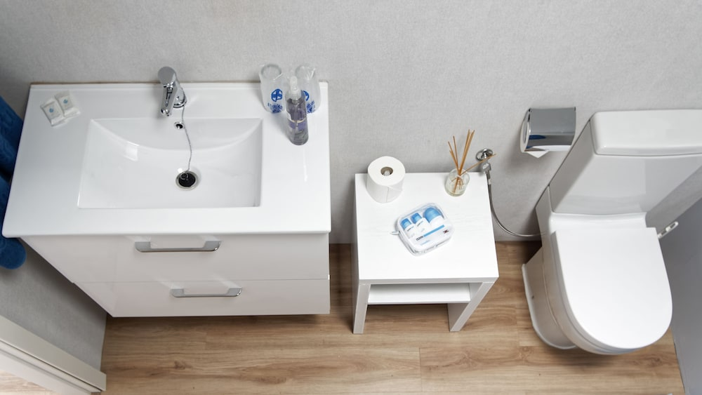 Bathroom Sink, Canaima Apartments - Adults Only