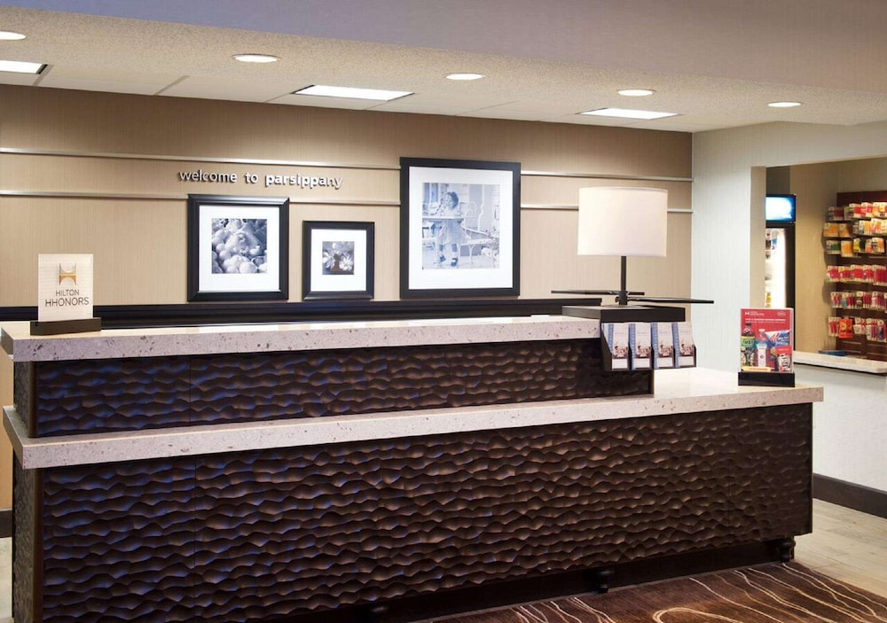 Reception, Hampton Inn Parsippany