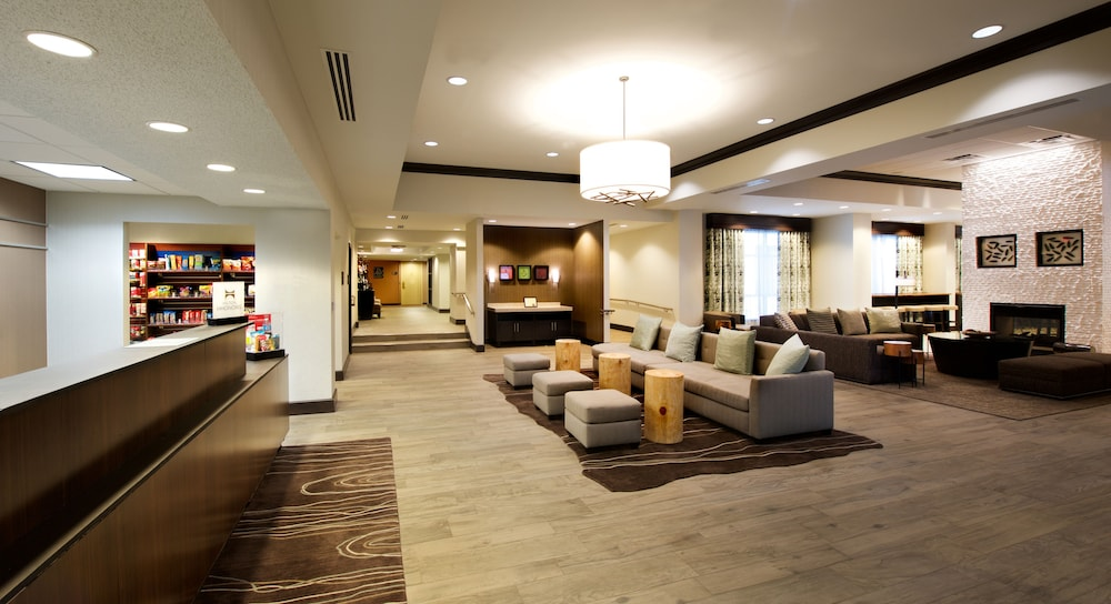 Lobby Sitting Area, Hampton Inn Parsippany