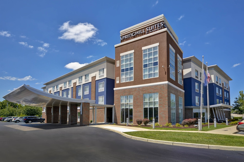 Exterior, SpringHill Suites by Marriott Indianapolis Airport/Plainfield