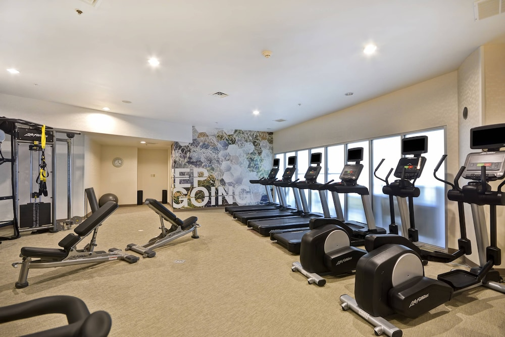 Fitness Facility, SpringHill Suites by Marriott Indianapolis Airport/Plainfield