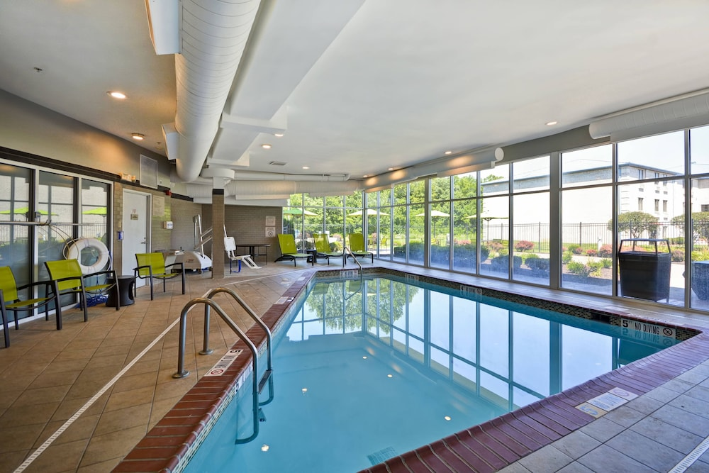 Pool, SpringHill Suites by Marriott Indianapolis Airport/Plainfield