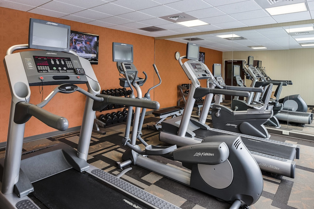 Fitness Facility, Courtyard Marriott Ankeny