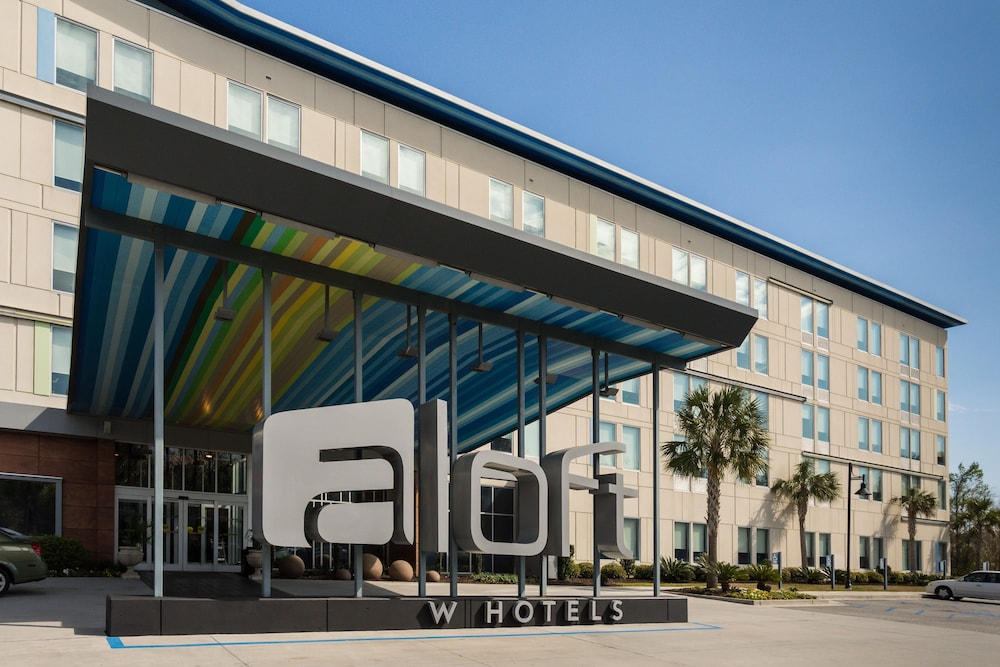 Front of Property, Aloft Charleston Airport & Convention Center