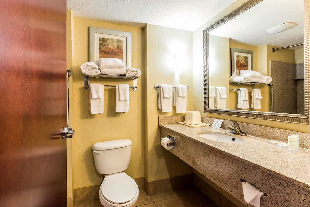 Bathroom, Comfort Suites Forsyth near I-75