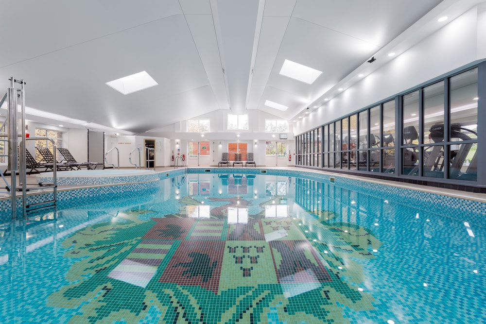 Stay out of the elements in the indoor pool