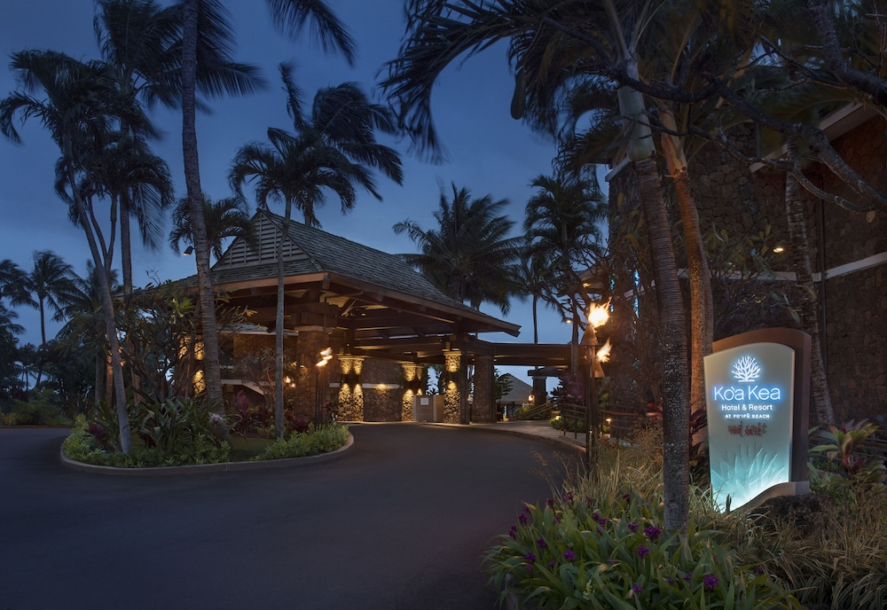 Front of Property - Evening/Night, Koa Kea Hotel & Resort