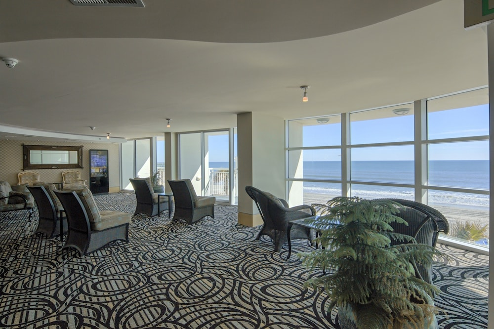 Sandy Beach Resort Palmetto Tower 3 5 Out Of 0 Balcony View Featured Image Lobby Sitting Area
