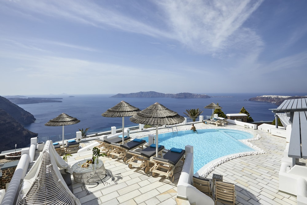 Outdoor Pool, Santorini Princess Luxury Spa Hotel