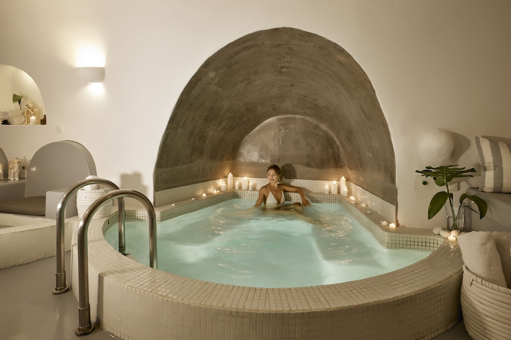 Indoor Spa Tub, Santorini Princess Luxury Spa Hotel