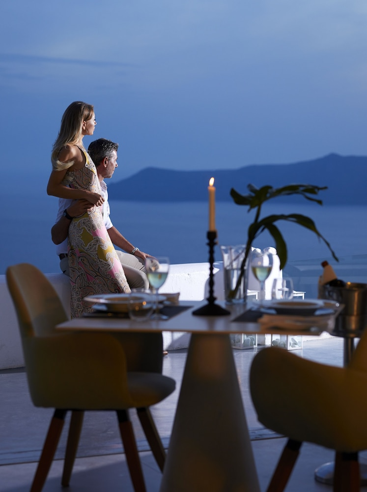 Dining, Santorini Princess Luxury Spa Hotel