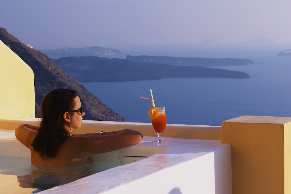 View from Room, Santorini Princess Luxury Spa Hotel