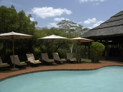 Outdoor Pool, Ubizane Wildlife Reserve