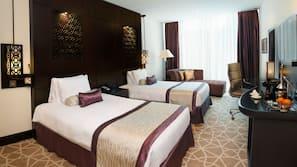 Matelas Select Comfort, minibar, coffre-forts dans les chambres