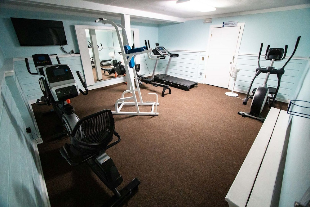 Fitness Facility, Barrier Island Station, a VRI resort