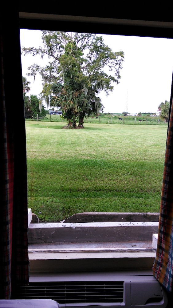 View from Room, Days Inn Lake Okeechobee