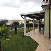 Numana - Apartment in Villa 150 Meters From the Sea - Three Rooms 4 Beds With Private Garden