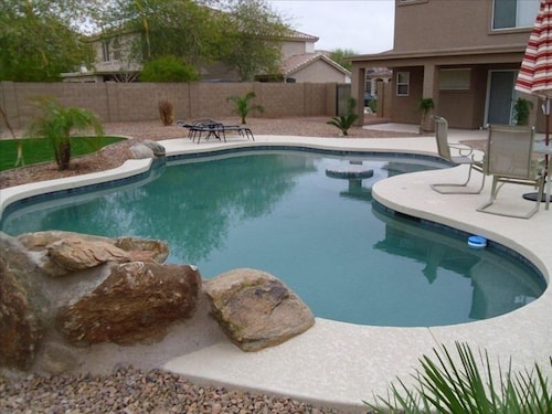 Lovely 3 Bedroom Home W/ Heated Pool, in Buckeye AZ